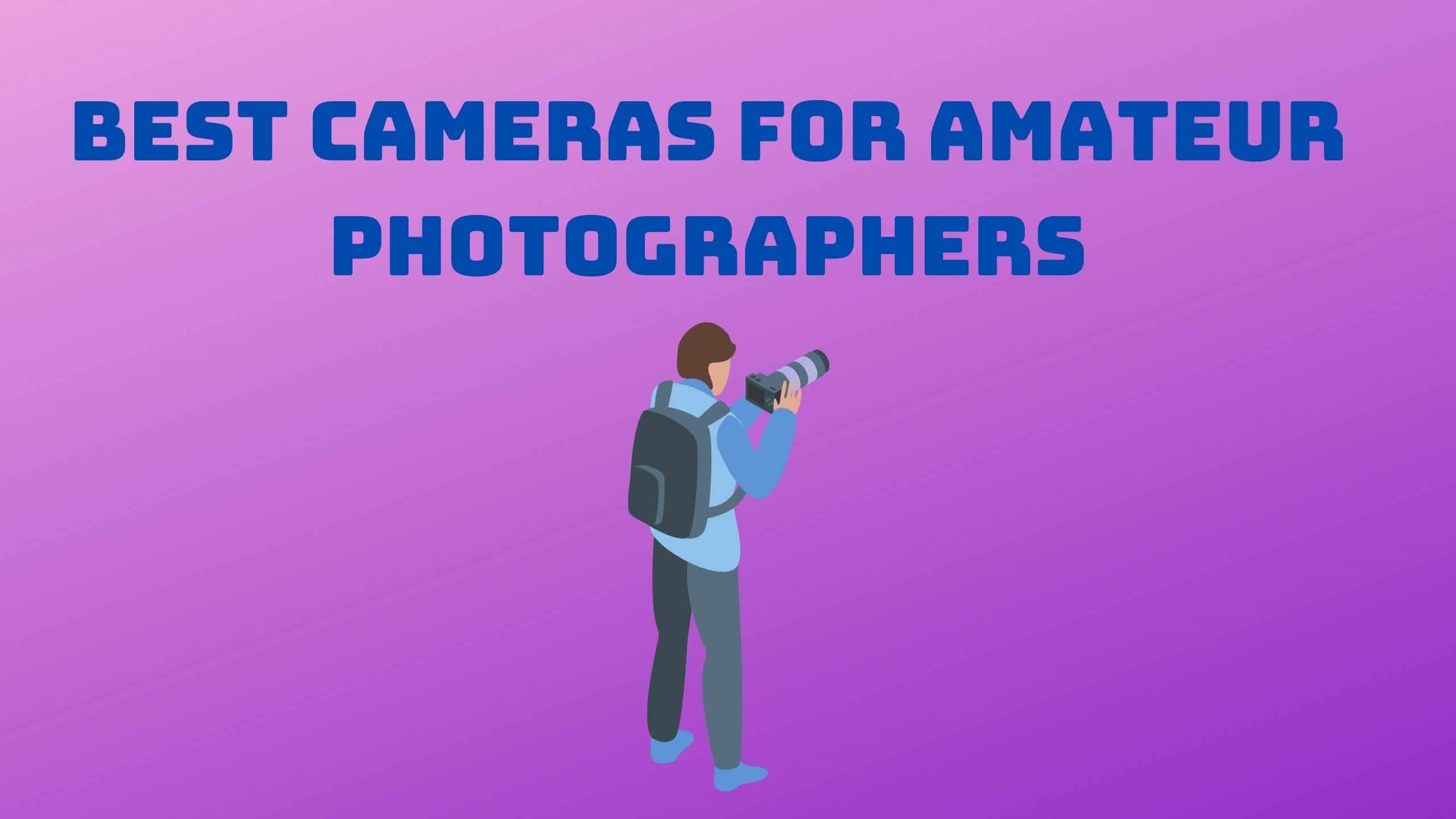 Best Cameras for Amateur Photographers image