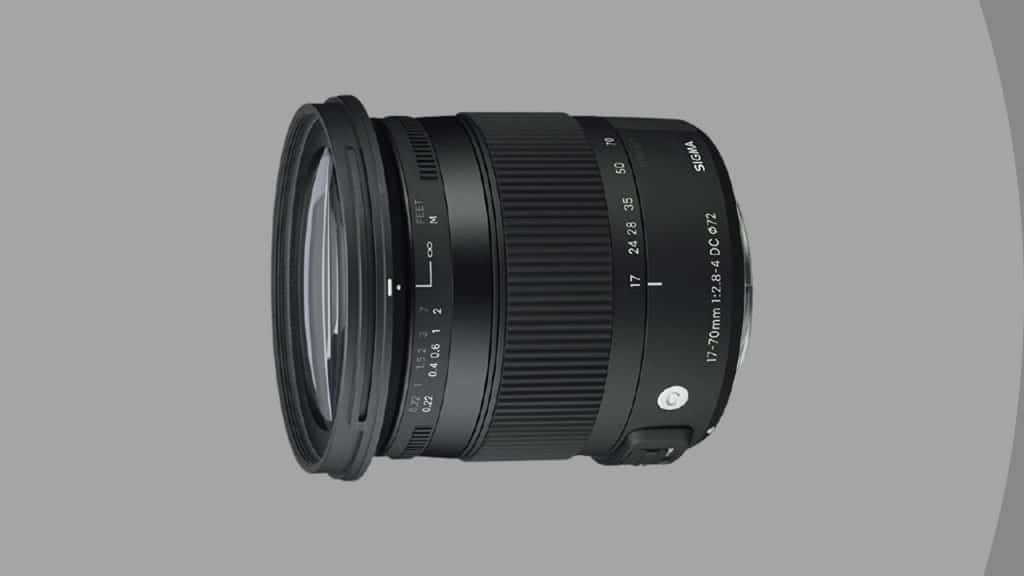 Sigma 17-70mm F2.8-4 Contemporary DC Macro OS HSM