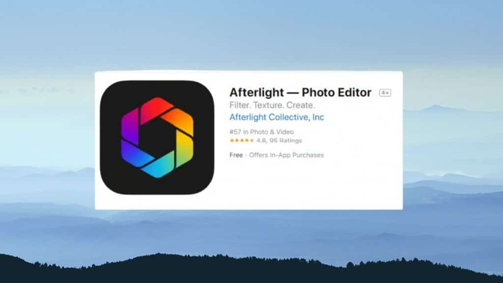 Afterlight 2 best photo editing app
