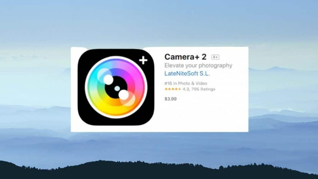 Camera+ best photo editing app