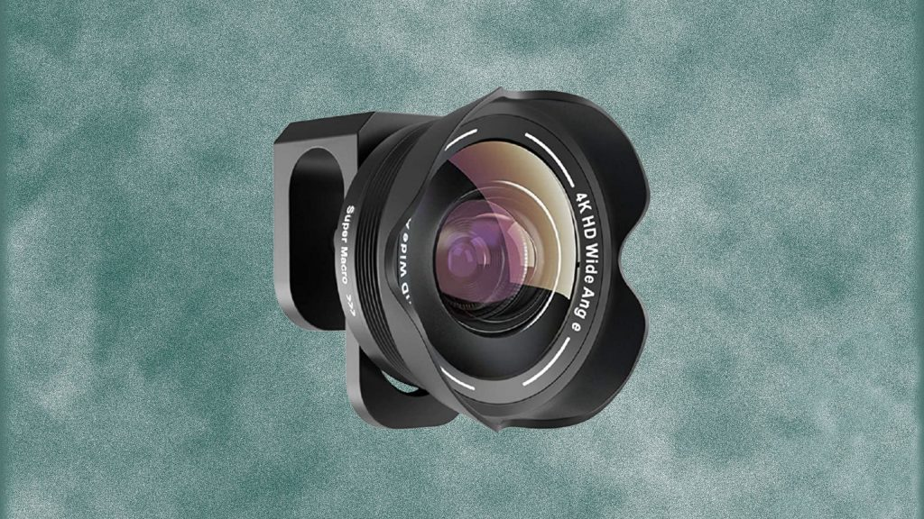 TODI 4K HD 2 in 1 120° Wide Angle Lens