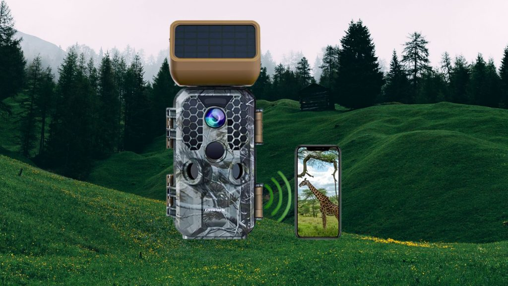 Campark Solar Power Trail Camera 30MP 4K