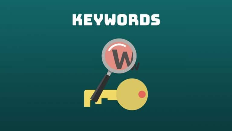 how to choose photography keywords