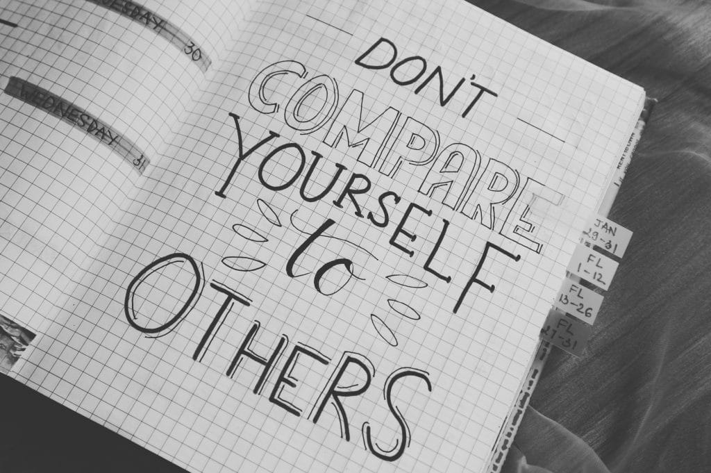 dont compare yourself