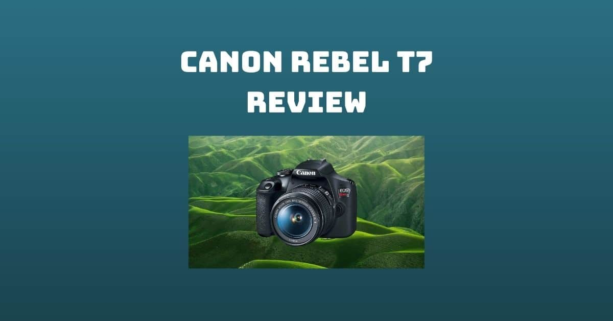 Canon Rebel T7 Review