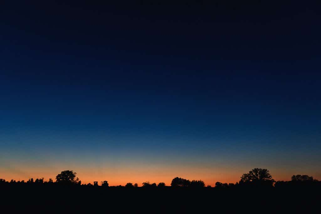 blue hour example
